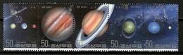 Korea 1992 Corea / Planets Astronomy MNH Astronomia Planetas Planeten Astronomie / Cu13020  34 - Astrología