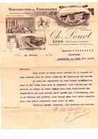 1918 COURRIER CH. LOUOT MANUFACTURE DE LYON - France