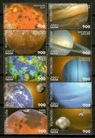 Indonesia 2001 / Planets Astronomy MNH Astronomia Planetas Planeten Astronomie / Cu12432  29 - Astrología
