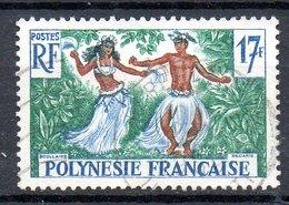 POLYNESIE. N°10 De 1958-60 Oblitéré. Danseurs Tahitiens. - Tanz