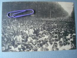 KOEKELBERG : Cérémonie De Reconnaissances Nationale Envers Le Sacré Coeur - La Messe Et L'arrivée Des évêques En 1919 - Koekelberg