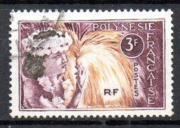 POLYNESIE. N°28 De 1964 Oblitéré. Danseuse Tahitienne. - Tanz