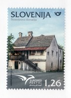 2206 Slowenien Slovenia 2018 ** MNH House Euromed France Malta Monaco Portugal Spain Turkey Tunisia Egypt Israel - Slovenia