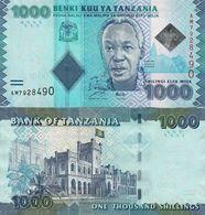 TANZANIA - 1.000 Shilingi Nd.(2010) & 2015 UNC P.41 A - Tanzanie