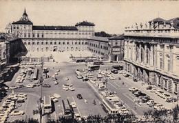 TORINO PIAZZA CASTELLO E PALAZZO REALE   NON   VIAGGIATA - Palazzo Reale