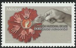 2005 MÉXICO DERECHOS HUMANOS, HUMAN RIGHTS, HANDS  MNH - México