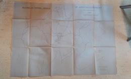 Plan SNCF Région Relevage Du Matériel Déraillé 1943 Chemins De Fer - Technical Plans