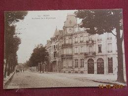 CPSM - Reims - Boulevard De La République - Reims