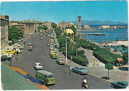 Rhodos: FORD TAUNUS TRANSIT, P1, OPEL REKORD A, HILLMAN IMP, FIAT 1500, CITROËN TRACTION AVANT, PEUGEOT 404 - (Greece) - Toerisme