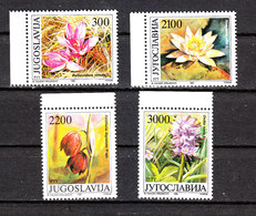 Jugoslavia   -  1989. Orchidea, Ninfea, Fritillaria, Liliacea. Orchid, Nymphea, Fritillaria, Liliacea. MNH - Orchidee