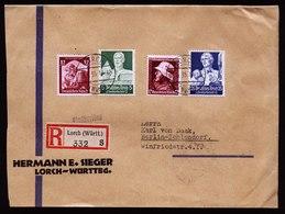 A6201) DR R-Brief Lorch 18.04.35 N. Berlin M. Mi.563 Ua. - Deutschland