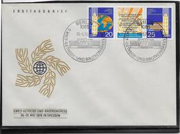 Allemagne DDR - RDA - Enveloppe 1er Jour - FDC - TB - [6] Democratic Republic