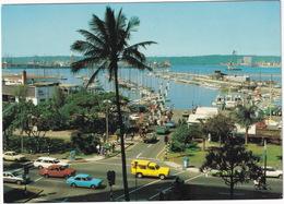 Durban: DODGE 4x4 PICK-UP, MERCEDES W115, ALFA ROMEO GTV, PEUGEOT 504 BREAK, COUPÉ, FORD ESCORT - (South Africa) - Toerisme
