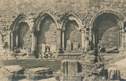 PC81119 St. Andrews Cathedral. Chapterhouse. Vestibule And Slype. H. M. Office Of Works - Postkaarten