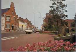 - CPM HALLUIN (59) - Rue De Lille 1986 - Les P.T.T. - L'entrée Du Jardin Public - Edition Europ N 5161 - - Autres Communes