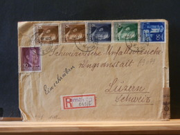 A9079 LETTRE RECOMM. ALLEMAGNE 1942 - Lettres & Documents