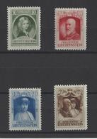 LIECHTENSTEIN.  YT  N° 90/93  Neuf *  1929 - Liechtenstein