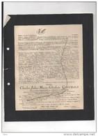 Charles Goethals Epoux De Thibault De Boesinghe Juge Hospices Civils Courtrai °1870+2/2/1944 Kervyn De Volkaersbeke Verh - Décès