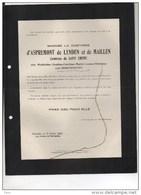 D'Aspremont De Lynden Et De Mailen Née Van Goidtsnoven °bruxelles 1882+14/2/1927 De Favereau De Briey De Beauffort - Décès