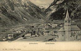 Goeschenen, Suiza Switzerland Suisse Schweiz - UR Uri