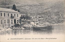 ALLIANCE SANTI - N° 43 - QUARANTA - UN COIN DE LA RADE - Albanie