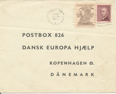Czechoslovakia Cover Sent To Denmark Praha 30-11-1948 - Czechoslovakia