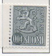 PIA - FINLANDIA - 1968 : Uso Corrente - Leone Rampante - Nuova Moneta   - (Yv 531C II) - Neufs