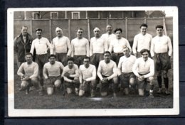 Carte Photo D'une Equipe De Rugby ... - Rugby