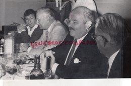 23-AUBUSSON-MICHEL GUERARD-LEON BEYER-PIERRE TROISGROS-ANDRE LACOMBE-CUISINE- RARE PHOTO ORIGINALE GUINOT - Persone Identificate