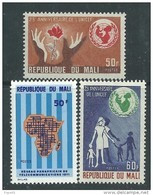 Mali  N° 156 / 57 + 163  XX  Les 3  Valeurs Sans Charnière TB - Mali (1959-...)