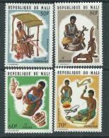 Mali  N° 227 / 30  XX Artisans, Les 4 Valeurs Sans Charnière TB - Mali (1959-...)