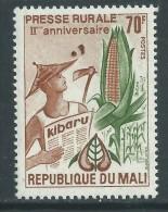 Mali  N° 215  XX 2ème Anniversaire De La Presse Rurale  Sans Charnière TB - Mali (1959-...)