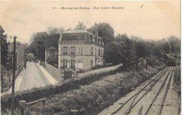 BOURG LA REINE : LA RUE ANDRE THEURIET - VOIE DE CHEMIN DE FER TUNNEL - Bourg La Reine