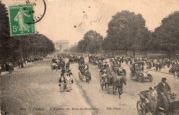 B56972 Cpa Paris - L'Avenue Du Bois De Boulogne - France