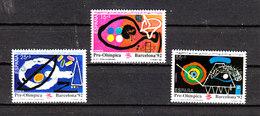 Spagna - 1991. Pre-Olimpiadi Barcellona. Tennis, Tiro. Tennis, Shooting. MNH - Sommer 1992: Barcelone