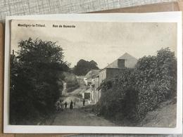 MONTIGNY LE TILLEUL  1908  RUE DE BOMEREE - Montigny-le-Tilleul