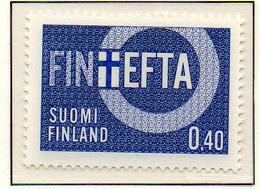 PIA - FINLANDIA - 1967 : EFTA - Associazione Europea Di Libero Scambio   - (Yv 589) - Neufs