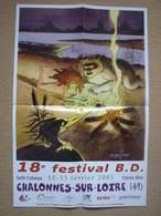 """STERNIS - AFFICHE """"PYRENEE"""" - 18è FESTIVAL BD CHALONNES-SUR-LOIRE (FEVRIER 2005) - Affiches & Offsets"""