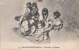 MACEDOINE - FLORINA - N° 35 - TZIGANES - Macédoine