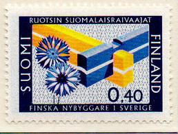 PIA - FINLANDIA - 1967 : Comunità Finlandese In Svezia   - (Yv 597) - Neufs