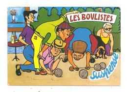 Les Boulistes-Pétanque- Chien Basset (D.940) - Bowls