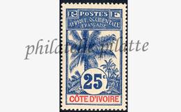 -Côte D'ivoire   27** - Unused Stamps