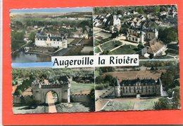 45  .AUGERVILLE  La  RIVIERE  . Multivues     .cpsm  9 X 14 - France