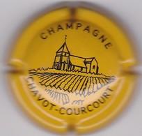 P36 : CHAMPAGNE CHAVOT COURCOURT JAUNE ET NOIR 3 - Autres