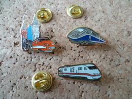 LOT DE 3 PIN'S   TRAIN TGV - TGV