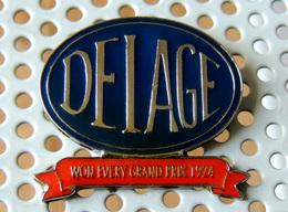 Pin's Championnat Sport Automobile DELAGE Tous Les Grands Prix De 1924 - Autres