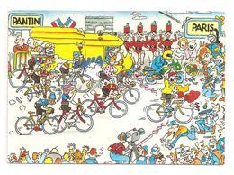 Tour De France 1984- Pantin-Paris-  Pub-Banania-(D.942) - Cycling