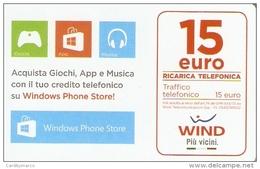 *ITALIA - WIND* - Ricarica Usata (sc. 31-12-2019) - Schede GSM, Prepagate & Ricariche