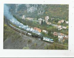LE 2 11 2009 LA 740.278 DU MUSEE FERROVIAIRE DE LA SPEZIA PASSE DEVANT LE VILLAGE DE FONTAN - Autres Communes