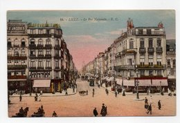 - CPA LILLE (59) - La Rue Nationale 1925 (belle Animation) - Edition E. Cailleux N° 14 - - Lille